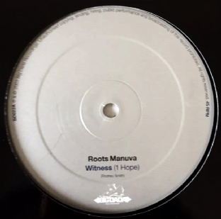 "Roots Manuva ‎- Witness (1 Hope) (12"") (VG/NM)"